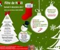 Fête de Noel + inscription le Samedi 9 Décembre
