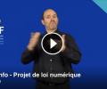 FNSF: Projet de la loi Numérique