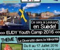 JSF – Camps Internationaux: EUDY YOUTH CAMP en Suède! Du 8 au 17 juillet 2016