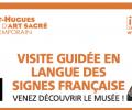 Musée St-Hugues sur Chartreuse guidé en LSF