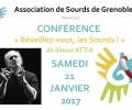 ASG38: Conférence «Réveillez-vous, les sourds!» à Grenoble avec Simon ATTIA