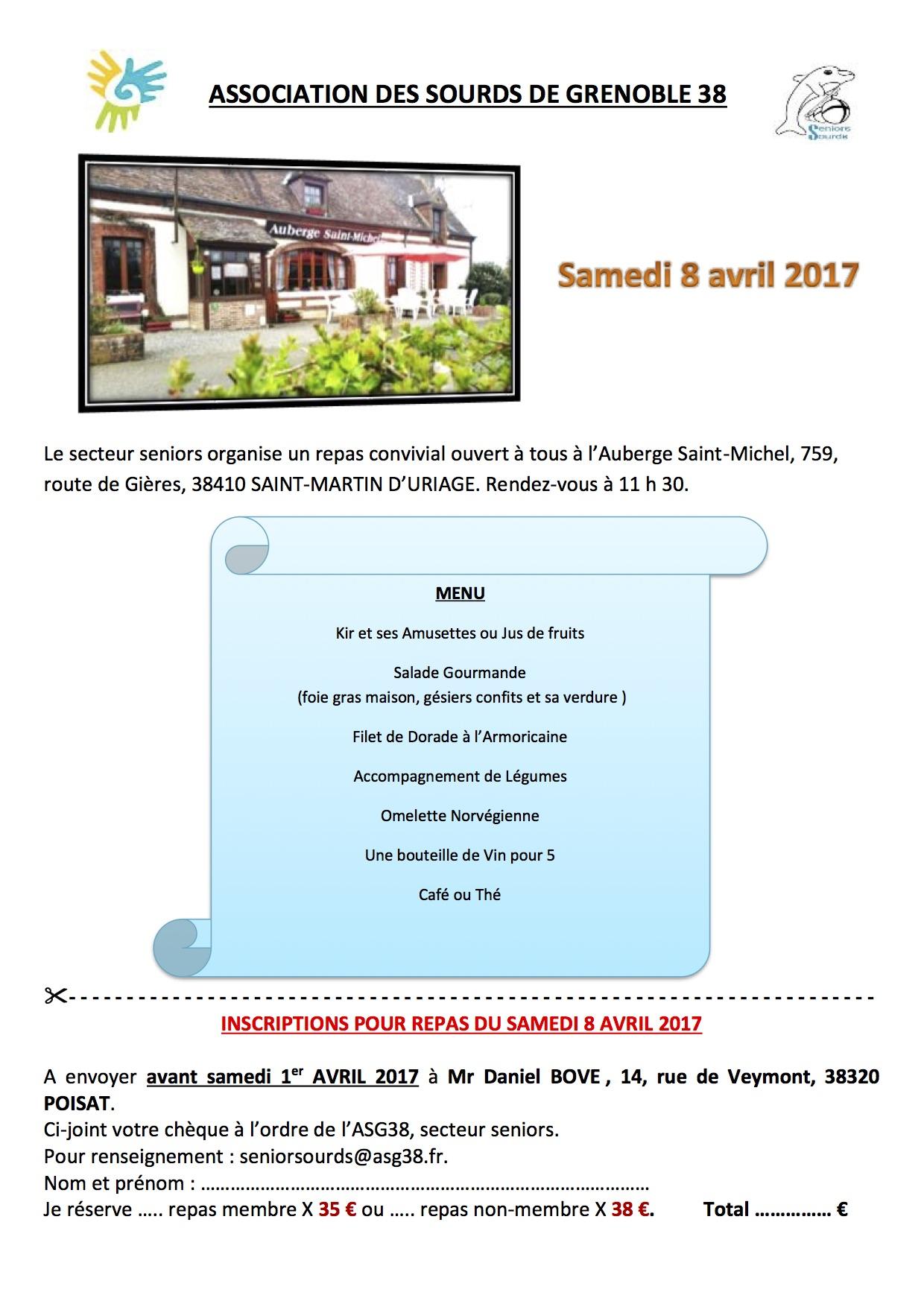 Programme du 8 avril 2017