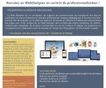 Formation en alternance «WebDesigner» en LSF pour adultes et jeunes adultes Sourds