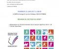 Secteur Sport ASG38: Réunion de préparation pour la rentrée – 23 Juin 2017