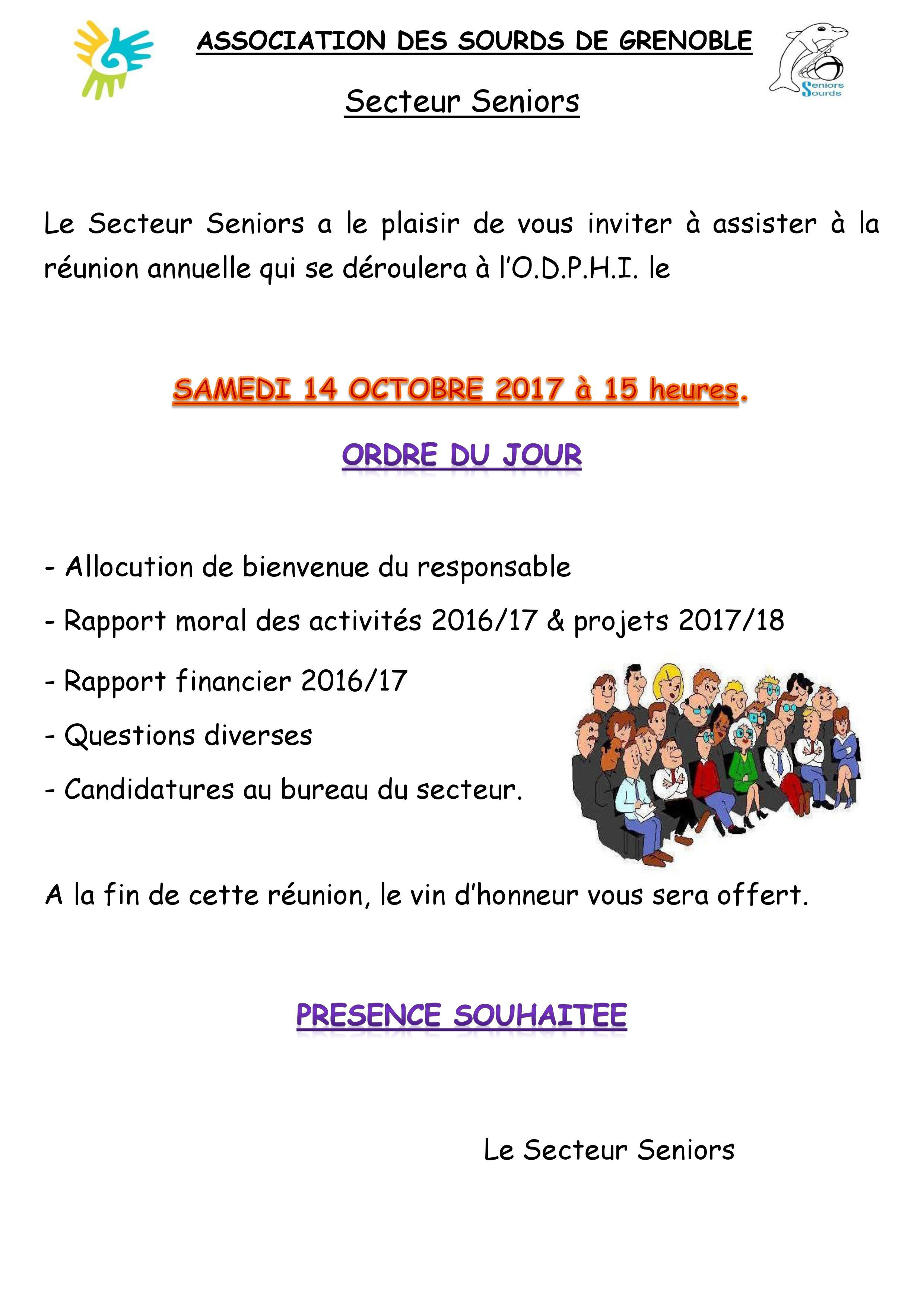 Programme du 14 Octobre 2017