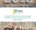 Vœux du CA du ASG + vidéo