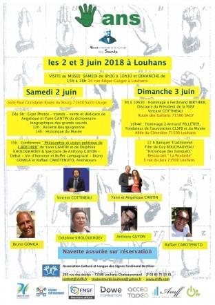 Musée 5eme anniversaire à Louhans ( 2 et 3 Juin)