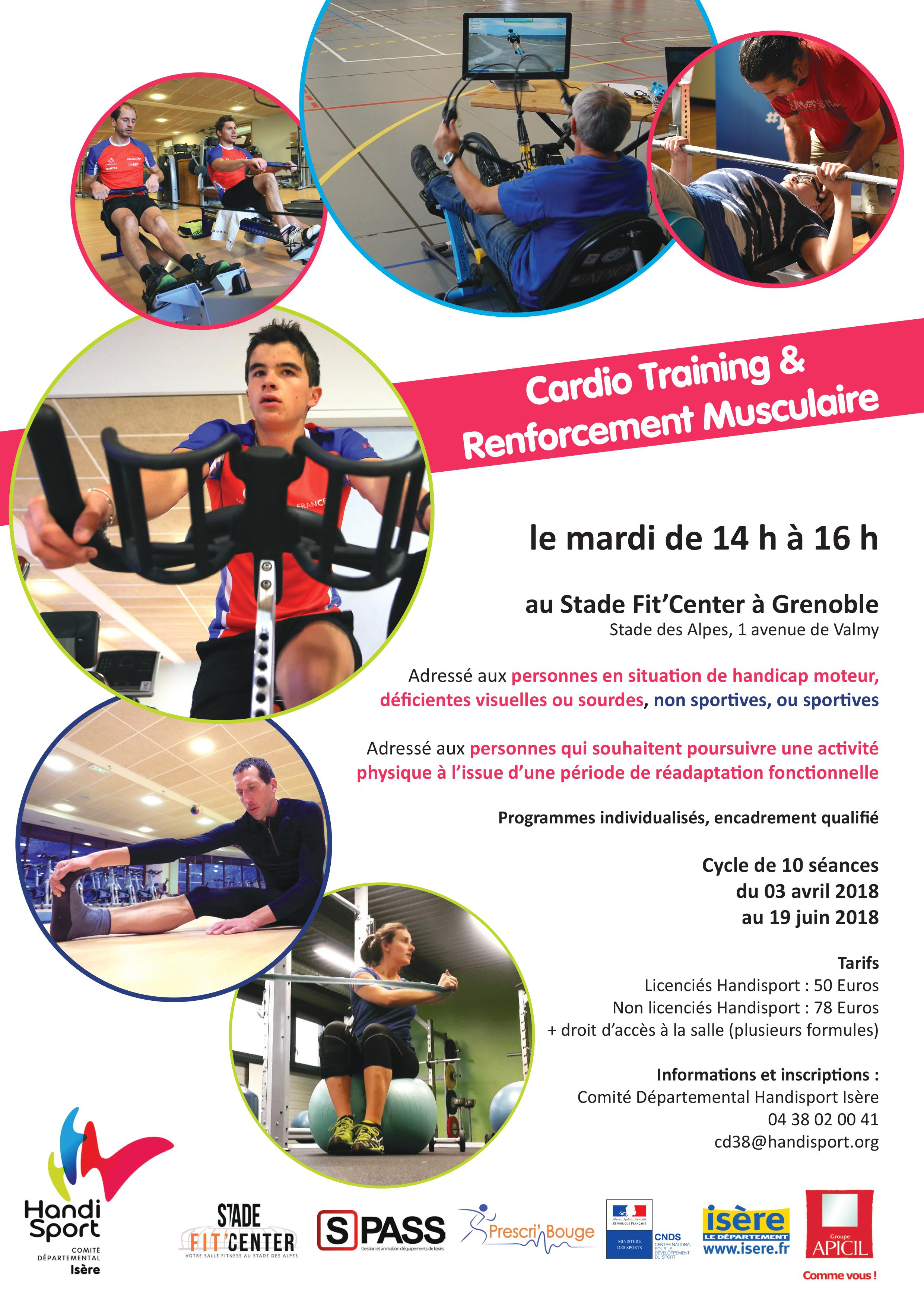 Atelier-CarioTraining&RenforementMusculaire-Handisport