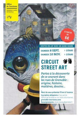 Circuit Street Art en LSF ( 8 sept et 10 Nov)
