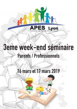 3ème séminaire parents/professionnel APES Lyon