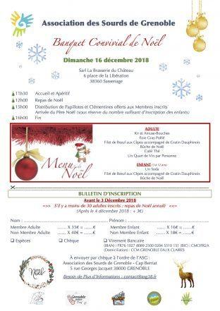 Noel ASG le 16 Décembre (Restaurant)