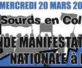 Mercredi 20 Mars 19: Grand manifestation Nationale à Paris!