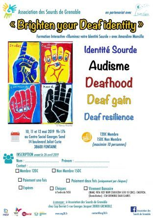 Formation Interactive (Identité Sourds) le 10-11-12 Mai