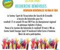 Sport ASG: Information de la réunion sur les bénévoles du 10 Mai à 18h